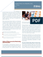 PhRMA Marketing Brochure Influences on Prescribing FINAL