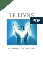 Le Livre de Vie Des Maitres Ascensionnes