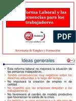 La Reforma Laboral y Consecuencias Laborales (1)