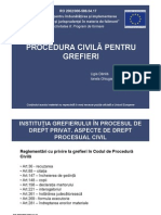 Procedura Civila Pt Grefieri Final