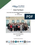 Geneva-Paris ST Report 2008