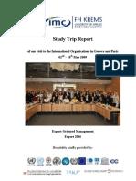 Geneva-Paris ST Report 2009