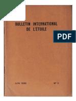Bulletin International de L'Étoile N°9 Juin 1930 par Krishnamurti