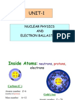 Nuclear Physics & Electron Ball as Tics
