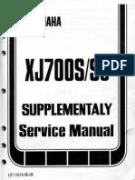 Xj700s Suppliment Xj700 s