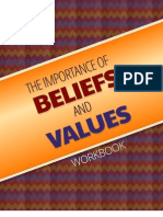 The Importance of Beliefs and Values Workbook