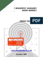'The Budapest, Hungary Radio Market