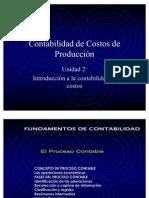 Contabilidad de Costos de Producci+¦n - UNIDAD 2