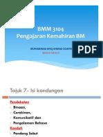 BMM 3104-Pendekatan n Kaedah K.M.B