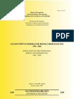 1996-2006 Stanovništvo - Federacija BiH