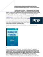 About useful book on environmental hazards from water pollution by detergents, with short comments in English, Italian,Kannada,Catalan,Chinese,Korean, Latvian