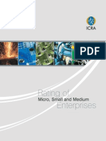 ICRA SME SSI Rating Brochure
