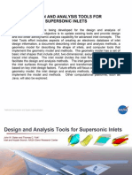 Design & Analysis Tools for Supersonic Inlets