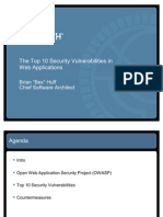 Top 10 Web Security Vulnerabilities v2 110529171455 Phpapp01