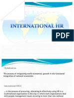 International Human Resources Management by Jamshed Khursig Ara Head Human Resource Car Plant Tata Motors Ltd 3234