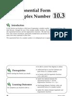Expo Form Complx Num
