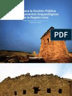 Guía para la Gestión Pública de Monumentos Arqueológicos de la Región Lima (2012)