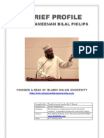 A Brief Profile - Dr. Abu Ameenah
