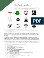 Symbolism Worksheet
