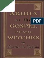 Leyland, Charles - Aradia, Gospel of the Italian Witches