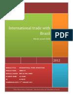 .International Trade With Brazil