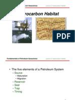 Lecture 2 Hydrocarbon Habitat