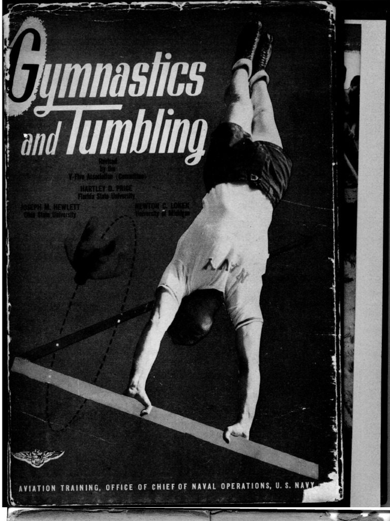 gymnastics and tumbling naval aviation physical training manual rh scribd com Gymnastics Coach Telling Instuctions Cheer Coach