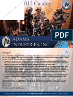 Adams Industries Catalog 2012