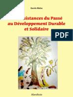 Des résistances du Passé au Développement Durable et Solidaire