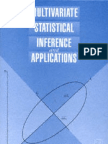 Multivariate Statistical Inference and Applications