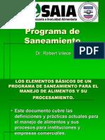 Programa de Saneamiento