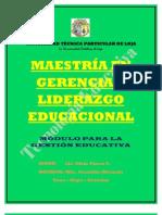 TECNOLOGÍA EDUCATIVA PARA LA GESTIÓN