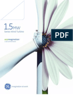 Wind Turbine Ge 15 Brochure