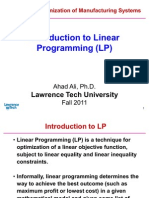 2 Introduction to LP