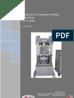 ECH MICROTEST HYDRAULIC COMPRESION TESTING MACHINE