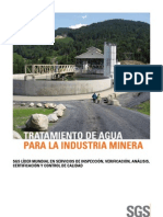 Sgs Water Treatment for the Mining Industry Es 11