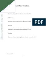 S. L. Sondhi et al- Continuous Quantum Phase Transitions