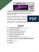 GBPPR 'Zine - Issue #15