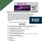GBPPR 'Zine - Issue #30