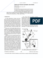 Horace T. Crogman and William G. Harter- Frame transformation relations for fluxional symmetric rotor dimers