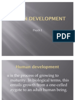 Human Development PPT PSYCH