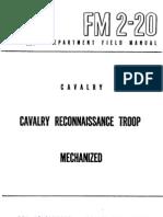 FM2-20. cav recon