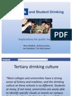 Facebook and Alcohol Marketing Presentation