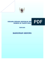 Uu28-2002 (UU Bangunan Gedung)