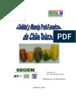 Calidad y Manejo Poscosecha de Chile Dulce
