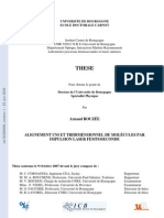 Arnaud Rouzee- Alignement uni et tridimensionnel de molecules par impulsion laser femtoseconde