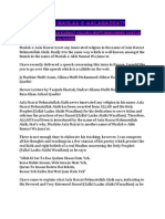 What is Maslak-E-Aalahazrat by Huzur Tajjush Shariah,Hazrat Allama Maulana Muhammad Akhtar Raza Khan Al-Azhari Qadiri(Maddazillahul Aali)