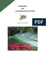 Standards for Landscape Irrigation Systems