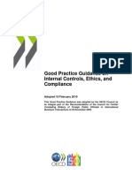 2010 OECD Good Practice Guidance on Internal Controls, Ethics, And Compliance