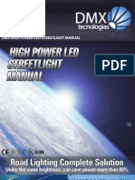 DMX High Power LED Streetlight User Manual